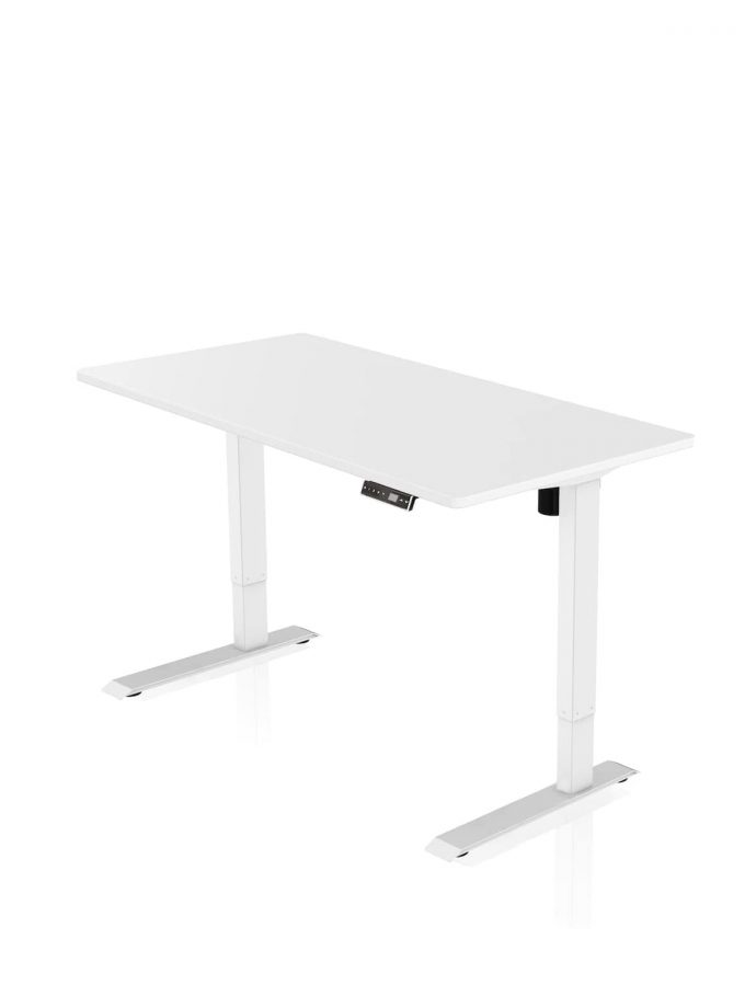 FITNEST_Sierra Starter_Desk_White Frame_White Table Top_nocentered_-1