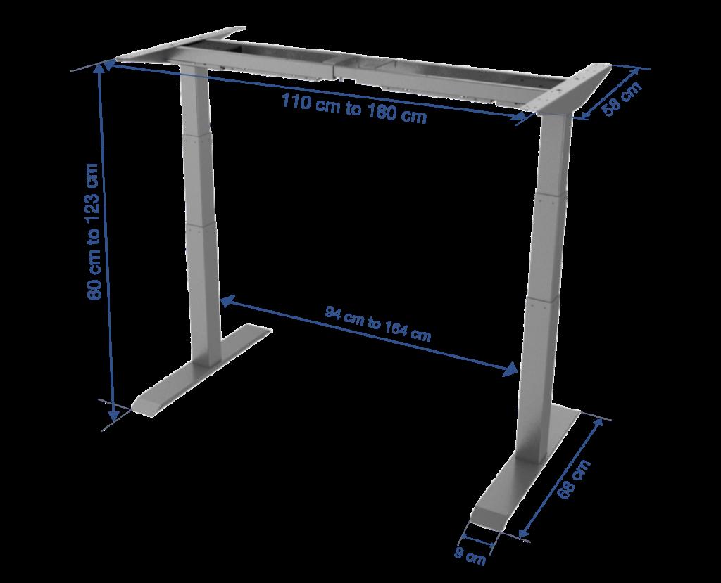 Fitnest Sierra Pro frame dimension no background