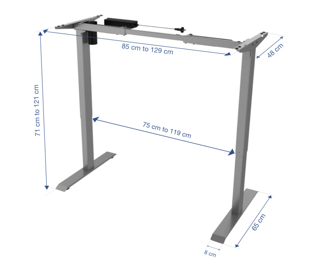 Fitnest Sierra Starter Frame dimension no background