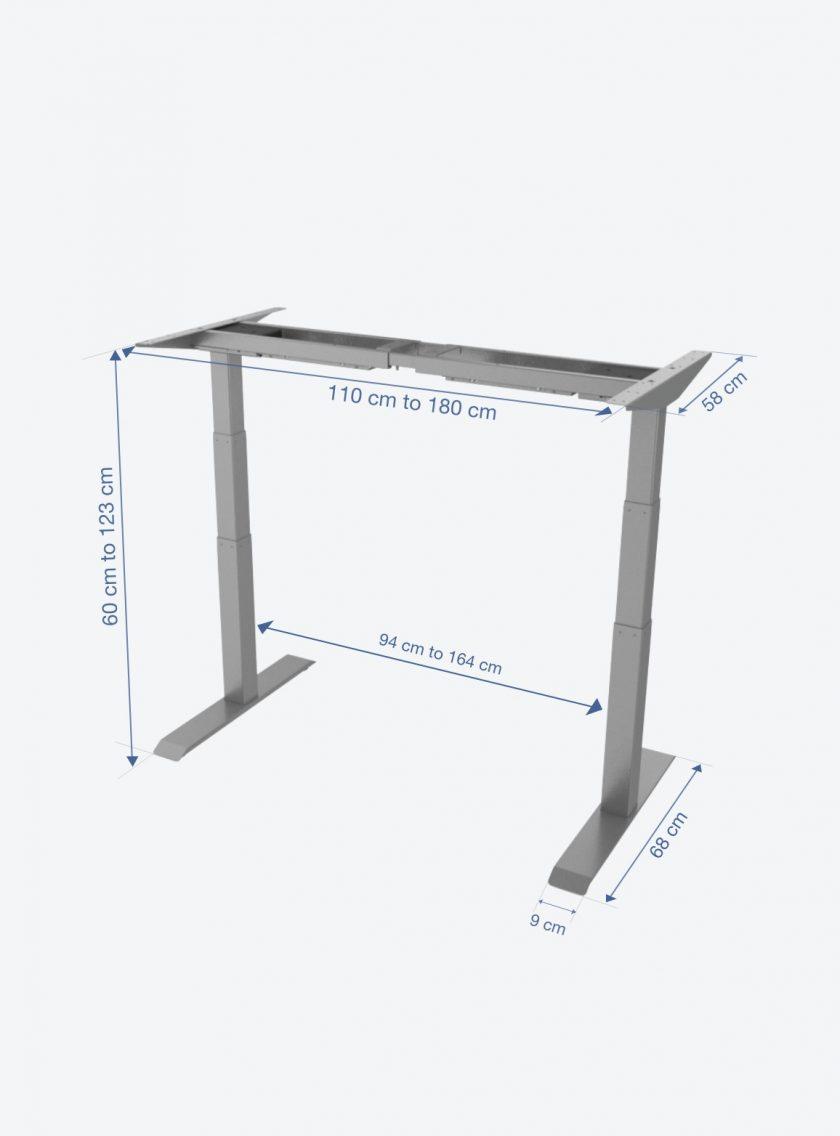 fitnest sierra pro frame dimension light background