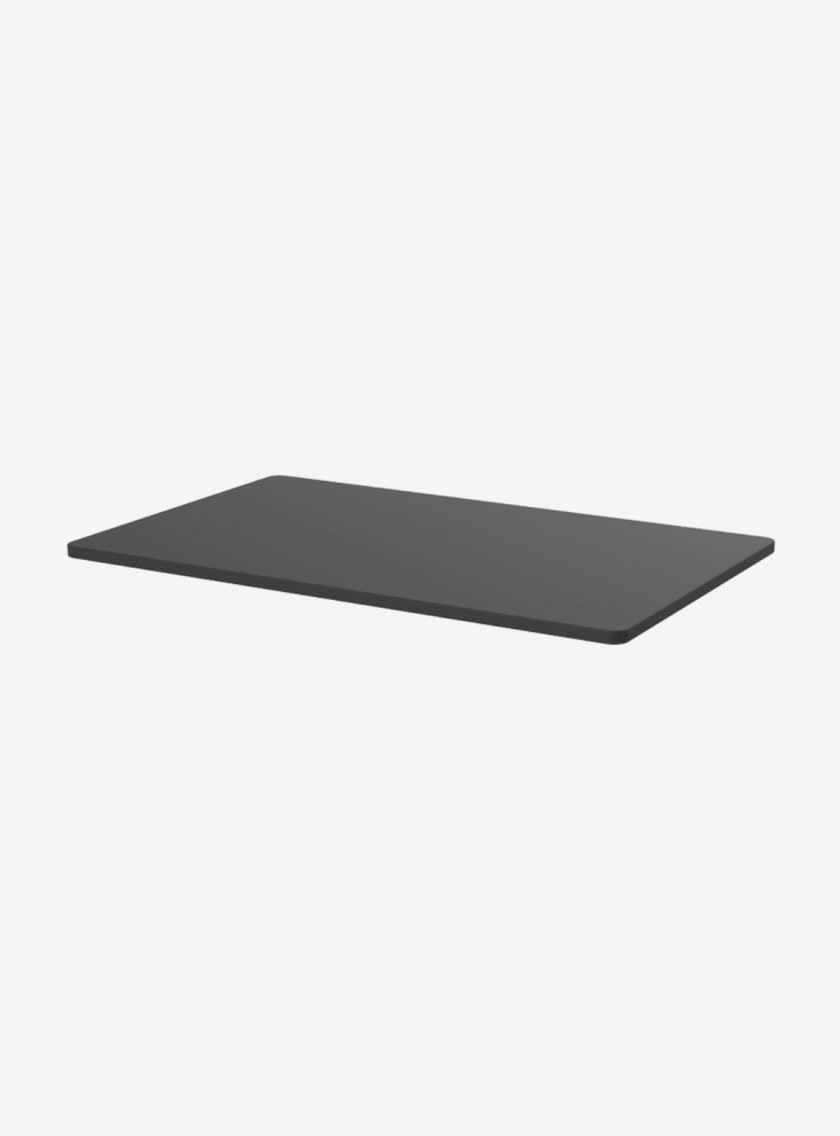 Fitnest Sierra Black table top with light background