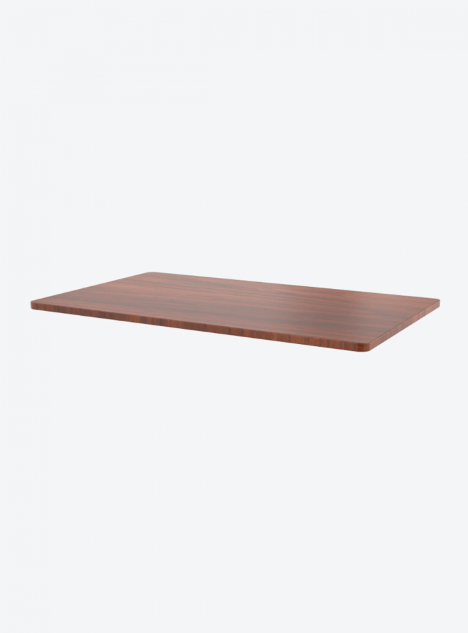 Fitnest Sierra Mahogony table top with light background