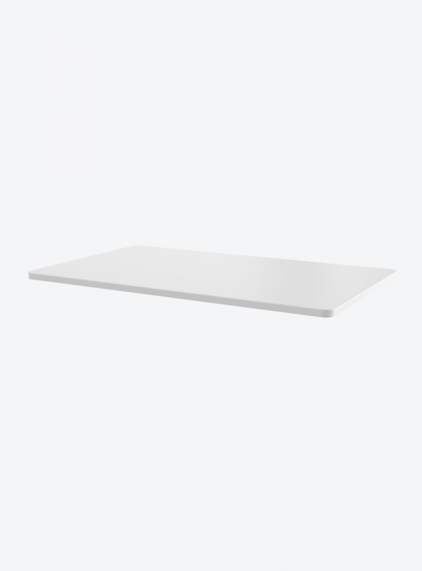 Fitnest Sierra White table top with light background