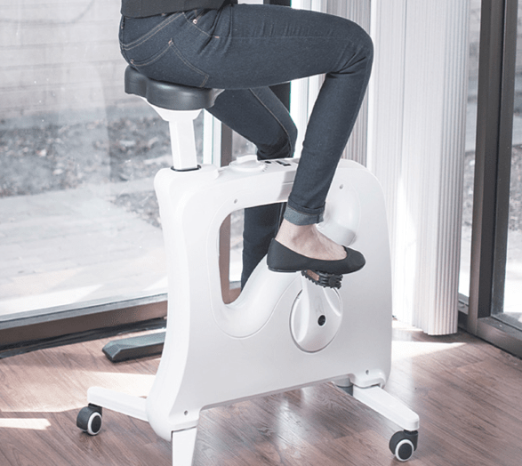 bicycle standing desk