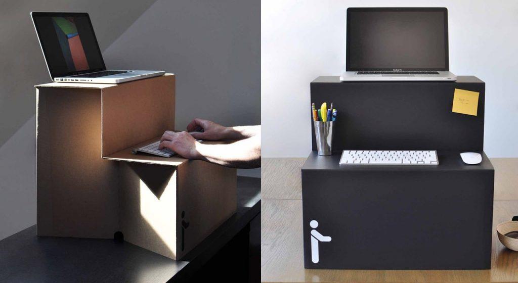 Oristand Cardboard Standing Desk