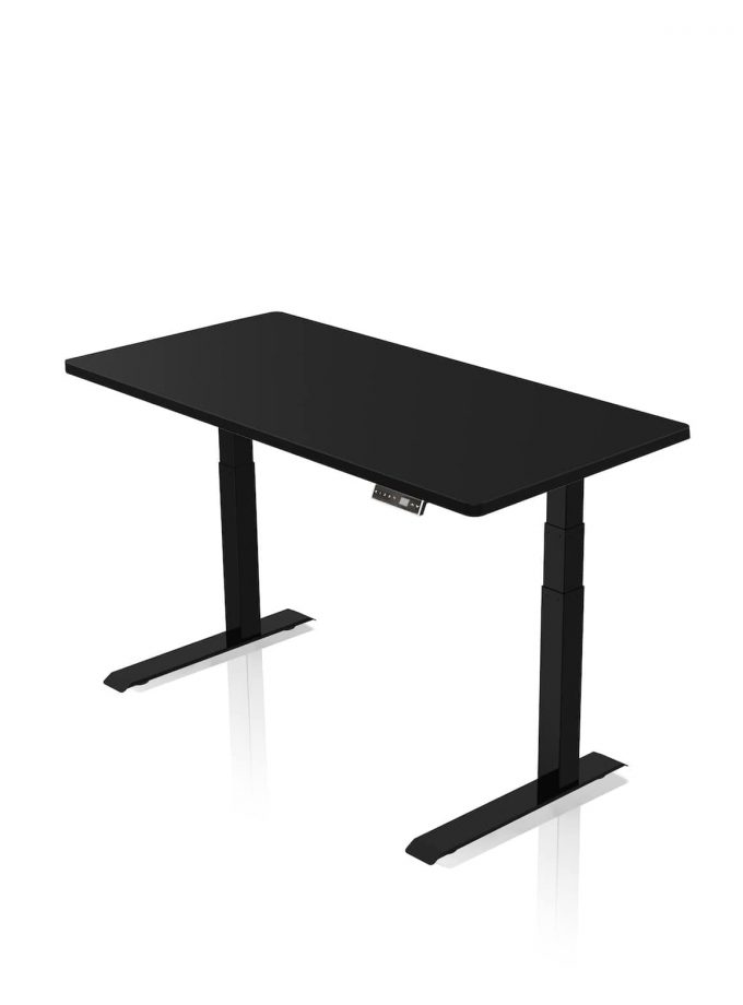 FITNEST_Sierra Pro_Desk_Black Frame_Black Table Top_nocentered_1