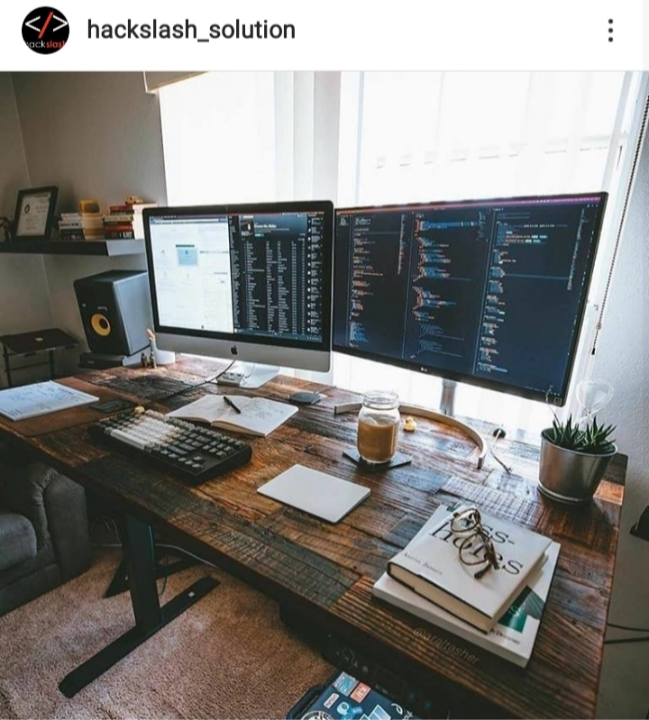 instagram hackslash_solutions cool working corner
