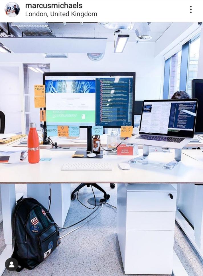 instagram marcusmichaels cool working corner